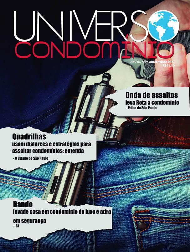 Revista Universo Condomínio Nº5 – Segurança em Condomínio