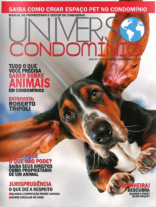 Revista Universo Condomínio - Nº1 - Animais em Condomínio