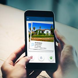Locação por meio de aplicativos e site